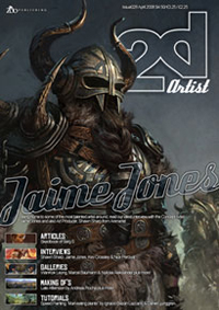 New issue of 2DArtist Mag - 'April 08' is out!