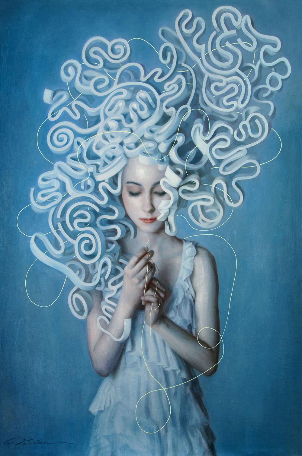 The Mind is a Garden of Adjacent Possibilities ©Dorian Vallejo