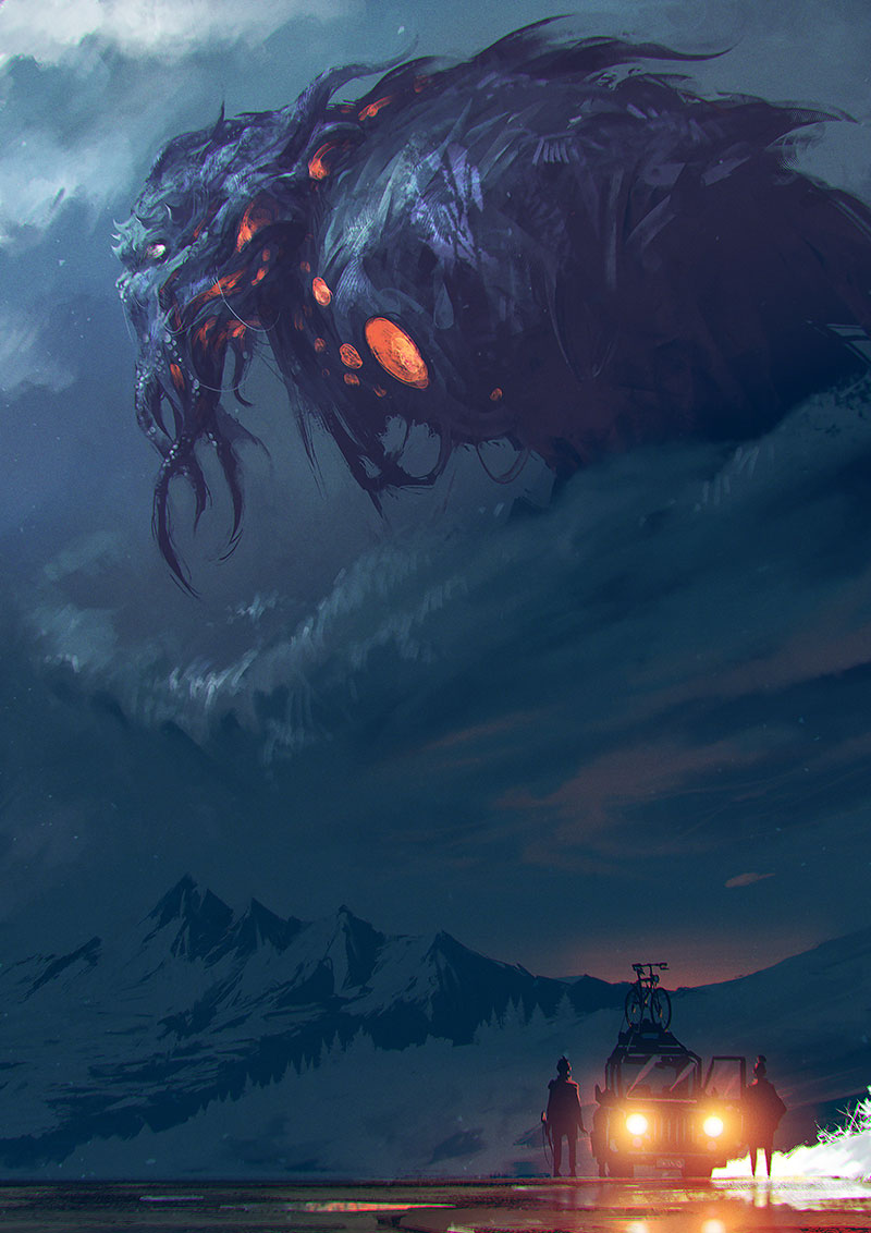 The Call of Cthulhu by Ömer Tunç ©omertunc