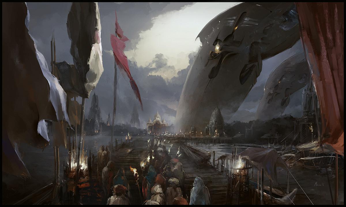"""Shiva's Fleet"" by Sergey Musin Copyright: © Sergey Musin"